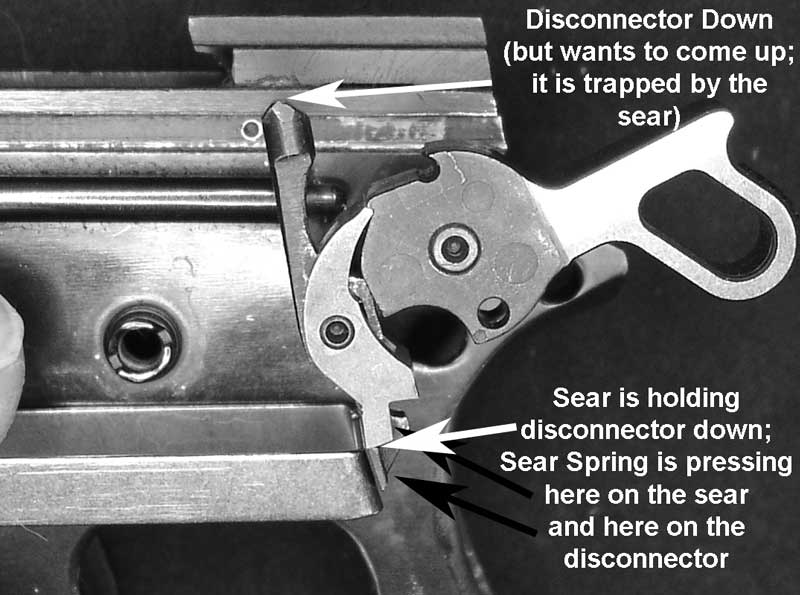 1911 Reassembly Issue Hammer Sear Interface Pistolsmith